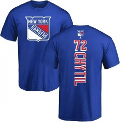 Youth Filip Chytil New York Rangers Backer T-Shirt - Royal