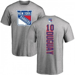 Youth Ron Duguay New York Rangers Backer T-Shirt - Ash